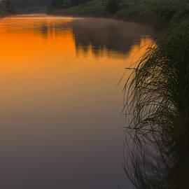 Veikko Suikkanen - Before sunrise on the river