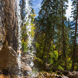 Brian Harig - Behind Spouting Rock Waterfall - Hanging Lake - Glenwood Canyon Colorado