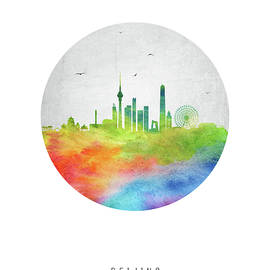 Beijing Skyline CHBJ20 - Aged Pixel