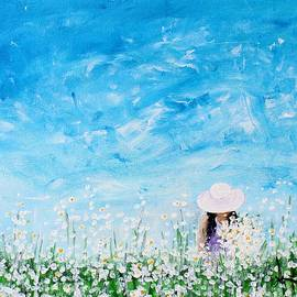 Kume Bryant - Being a Woman - #1 In a field of daisies
