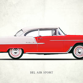 Bel Air Sport 1955 - Mark Rogan