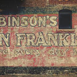 Steven Bateson - Ben Franklin Vintage Sign