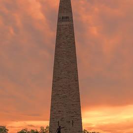 Stephen Stookey - Bennington Battle Monument Sunset