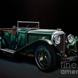 Bentley Open Tourer 1929 Painting - Paul Meijering
