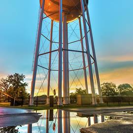 Gregory Ballos - Bentonville Arkansas Water Tower After Rain