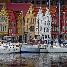 David Melville - Bergen Waterfront