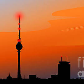 Sandra Hoefer - Berlin Skyline