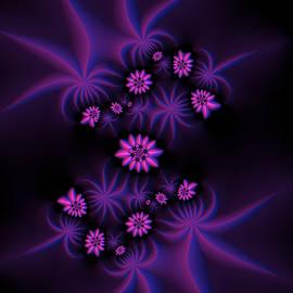 Judi Suni Hall - Berry Flowers Fractal