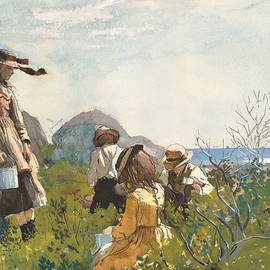 Berry Pickers - Winslow Homer
