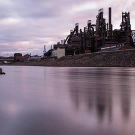 Jennifer Ancker - Bethlehem Steel Sunset
