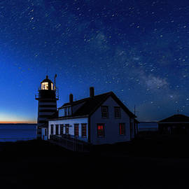 Marty Saccone - Between Dark and Dawn At West Quoddy Head Lighthouse