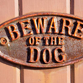 Beware of the dog - Tom Gowanlock