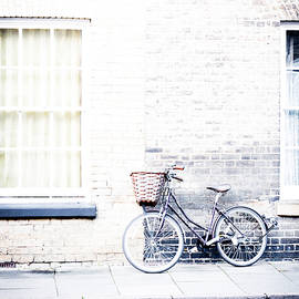bicycle with basket - David Ridley