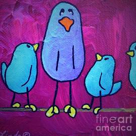 LimbBirds Whimsical Birds - BIG Little Brother
