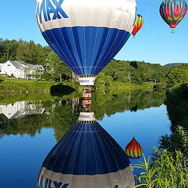 Jeff Folger - Big max balloon on the surface