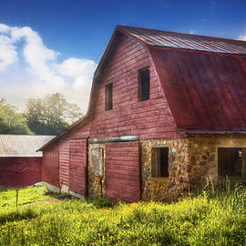 Debra and Dave Vanderlaan - Big Red Barn in the Field