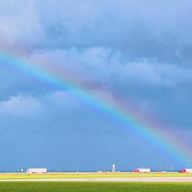 Barbara Snyder - Big Rig Rainbow Photo