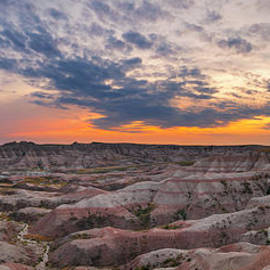 Michael Ver Sprill - Bigfoot Overlook Sunset Panorama