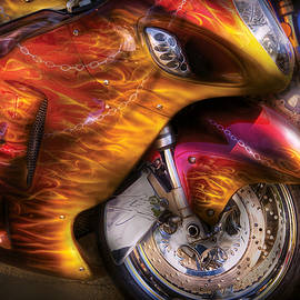 Mike Savad - Bike - Motorcycle - Flame On