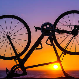 Bike On Seawall - Garry Gay