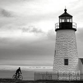 Biking at Pemaquid - Olivier Le Queinec