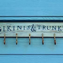 Cynthia Guinn - Bikinis And Trunks Hanger