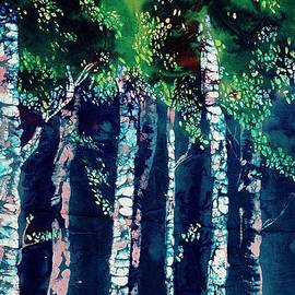 Carolyn Doe - Birch Forest
