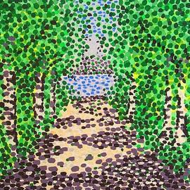 Alan Hogan - Birch Path