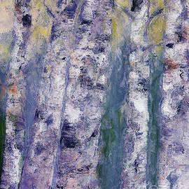Claire Bull - Birches 2