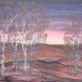 Regina Valluzzi - Birches at Dawn