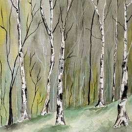 Brenda Owen - Birches Before Spring