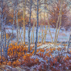 Fiona Craig - Birches in First Snow
