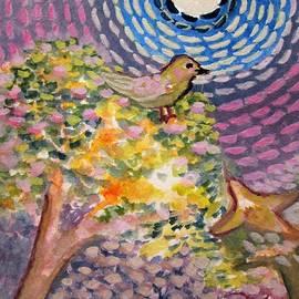 Carmela Maglasang - Birds On A Starry Night