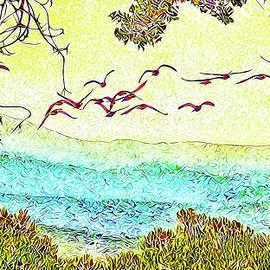Joel Bruce Wallach - Birds Over Horizon - Boulder County Colorado