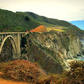 Joyce Dickens - Bixby Creek Bridge Big Sur CA II