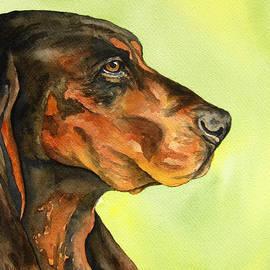Cherilynn Wood - Black and Tan Coonhound