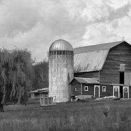 Donna Doherty - Black and White Barn