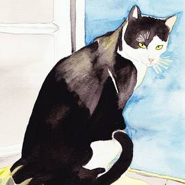 Michaela Bautz - Black And White Cat