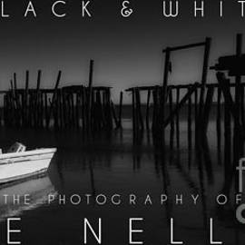 Mike Nellums - Black and White coffee table book cover