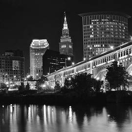 Frozen in Time Fine Art Photography - Black and White Night Lights