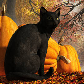 Daniel Eskridge - Black Cat At Halloween