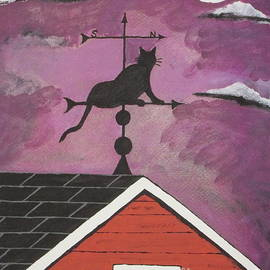 Jeffrey Koss - Black Cat Weathervane