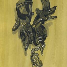 Igor Sakurov - Black Gloves and Bibelot. Paradox Still Life