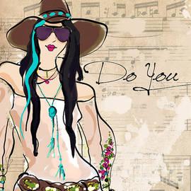 Black Hair Glasses - Jodi Pedri