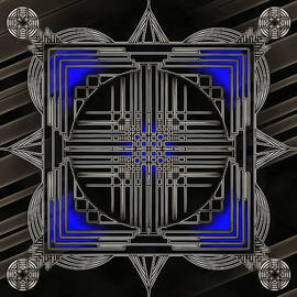 Mario Carini - Black Mandala