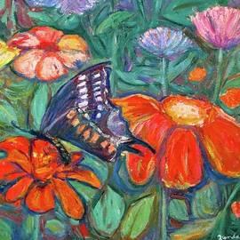 Kendall Kessler - Black Swallowtail Floral
