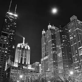Frozen in Time Fine Art Photography - Blackest Night in Chicago