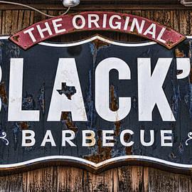 Stephen Stookey - Blacks Barbecue Sign #1