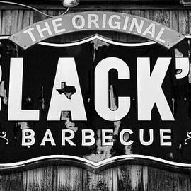 Stephen Stookey - Blacks Barbecue Sign #3