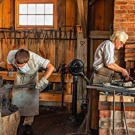 Steve Harrington - Blacksmith and Apprentice 3